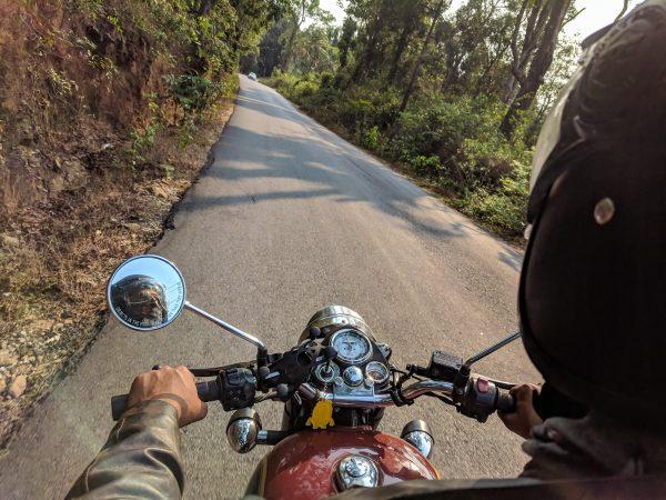 Važiavimas su motociklu